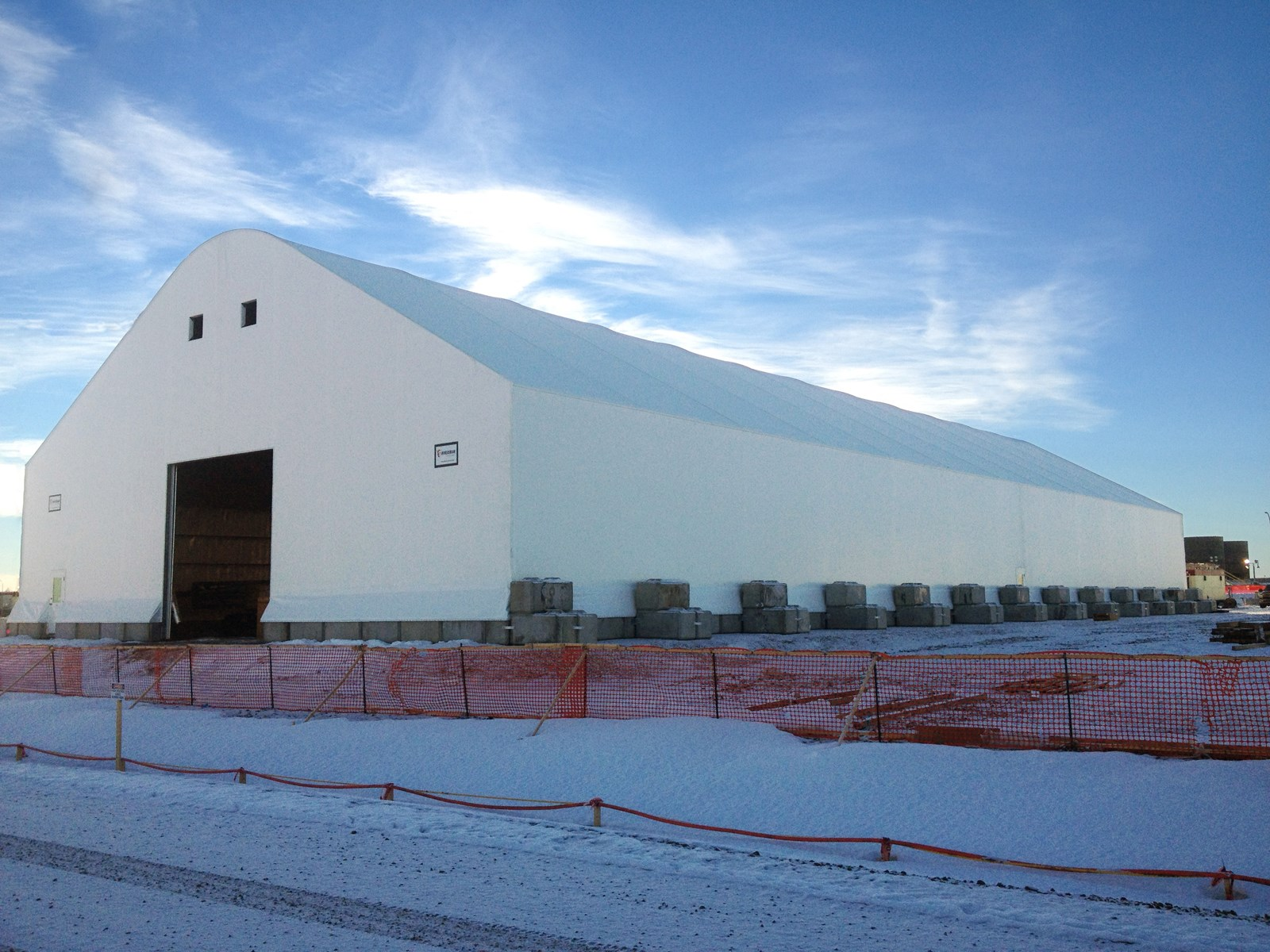 Warehouse & Emergency Vehicle Storage | Encana
