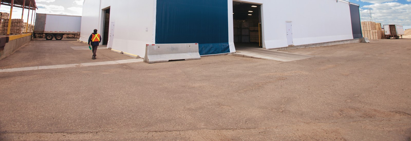 Warehouse for North Star Pallets   Norseman Structures
