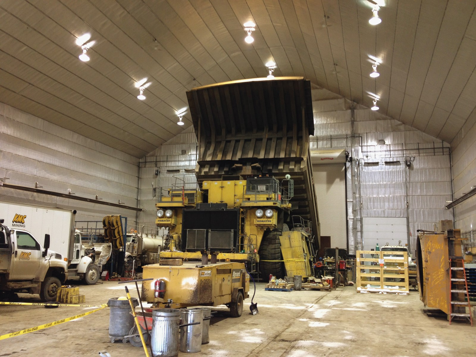 Maintenance Shop | KMC Mining