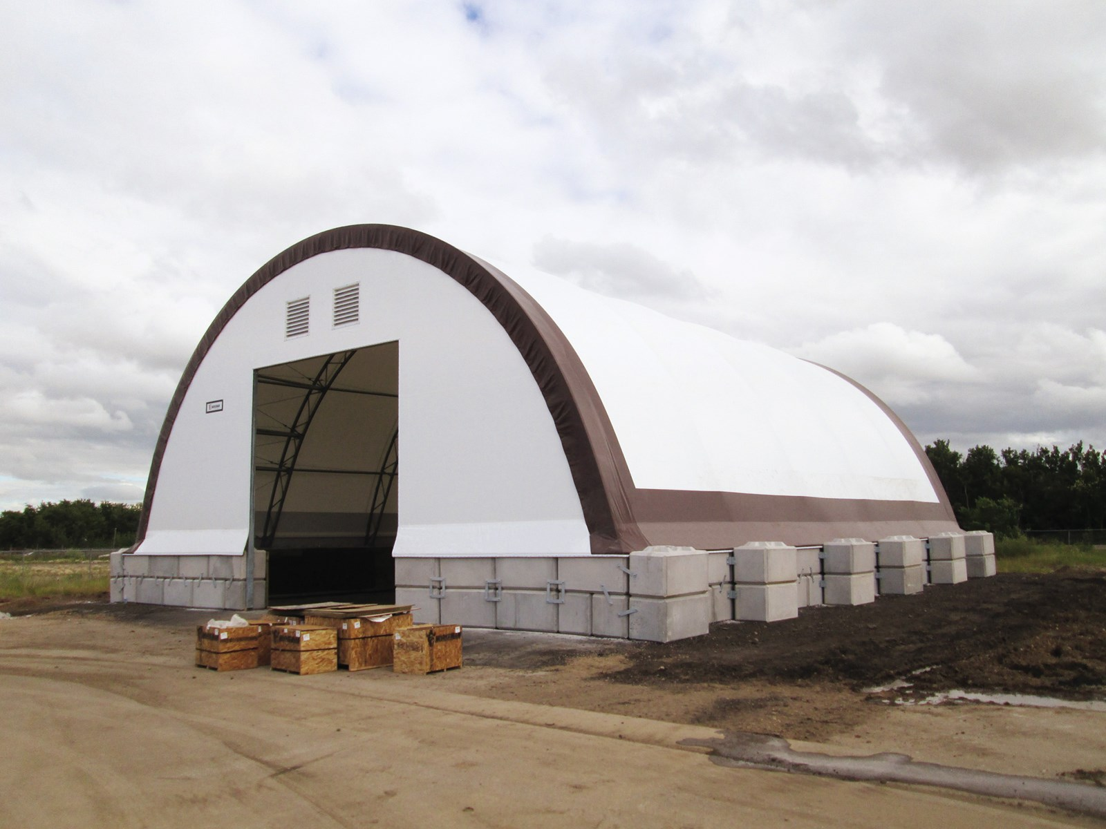 Salt and Sand Storage | City of Prince Albert