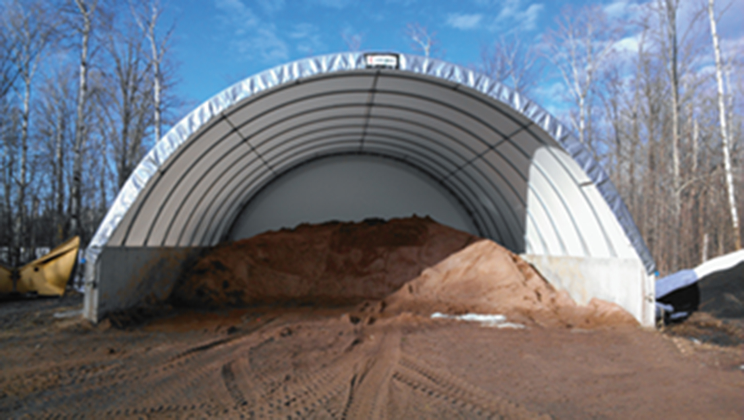 Salt Sand Storage Building