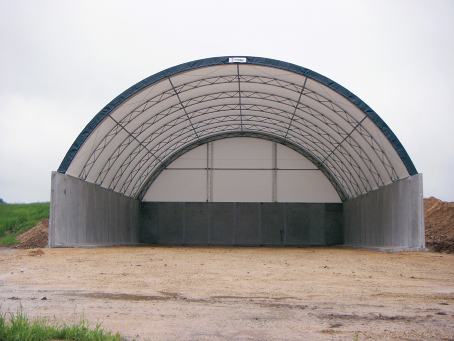 Salt Storage Building