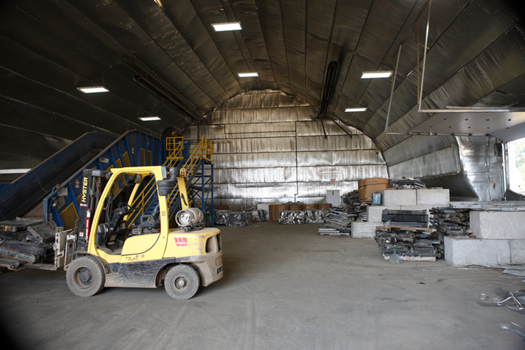 Metal Recycling Sorting Facility