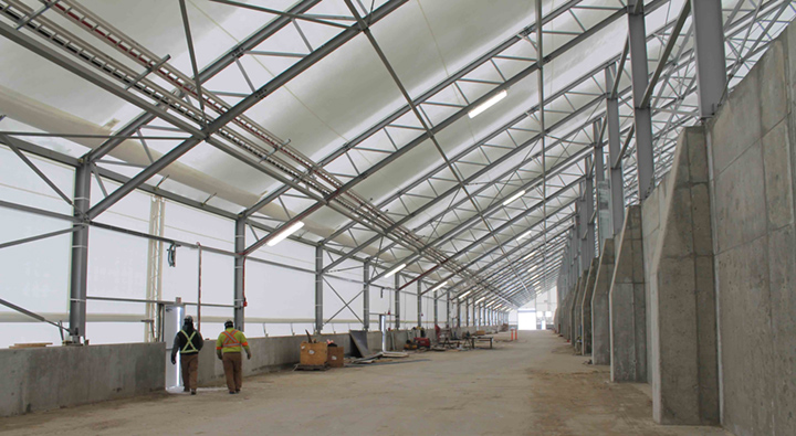 Corrosion Protection for Commercial Agriculture Building